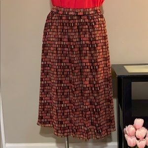 Sejour Nordstrom multicolored maxi skirt NWOT